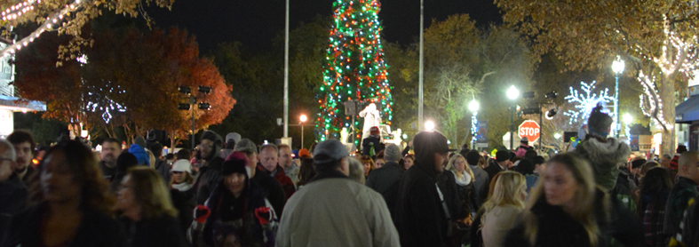 A look at the crowd at the annual Merriment on Main celebration in downtown Vacaville